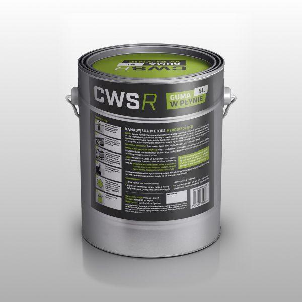 Guma w Płynie CWS R 5L na dach