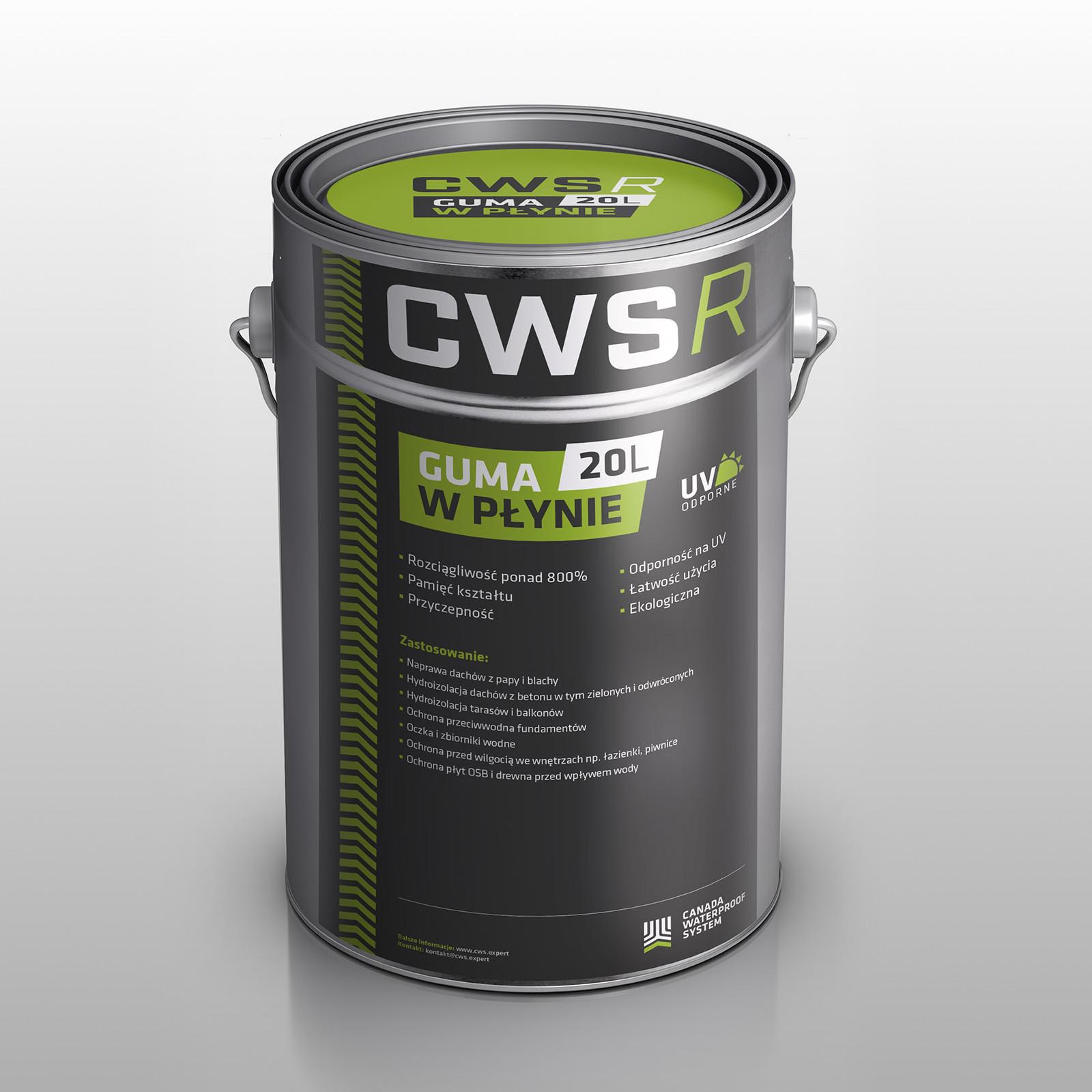 Guma w płynie CWS R