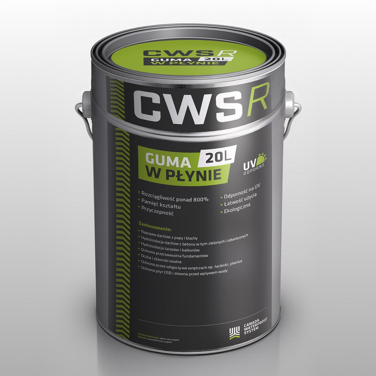 Guma w Płynie CWS R 20L